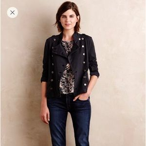 Anthropologie Marrakech Knit Field Jacket